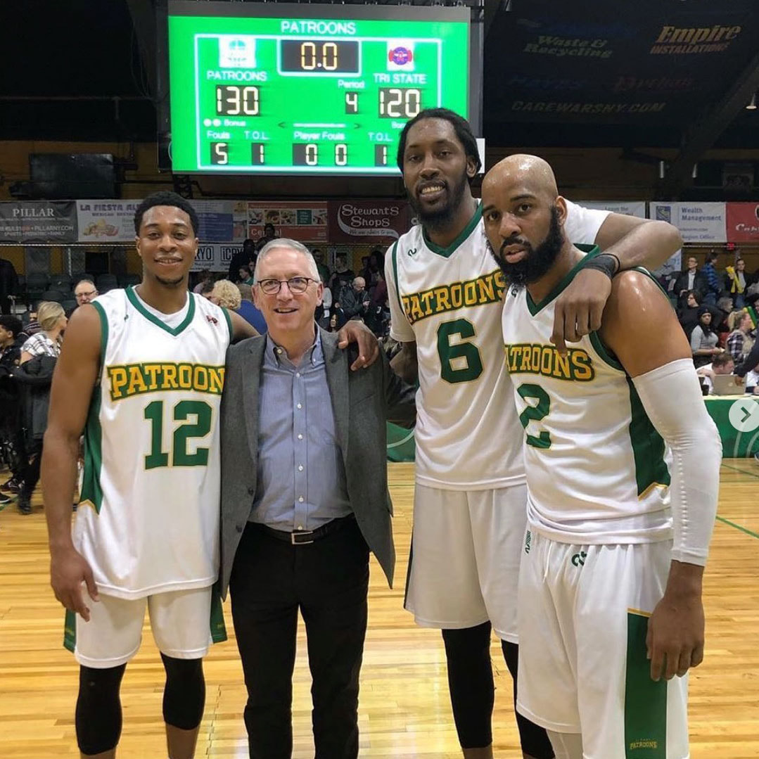 Dr. Tim Maggs - Owner of the Albany Patroons